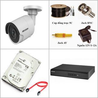 Lắp đặt camera giám sát trọn gói