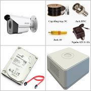 Lắp đặt trọn gói camera Hikvision