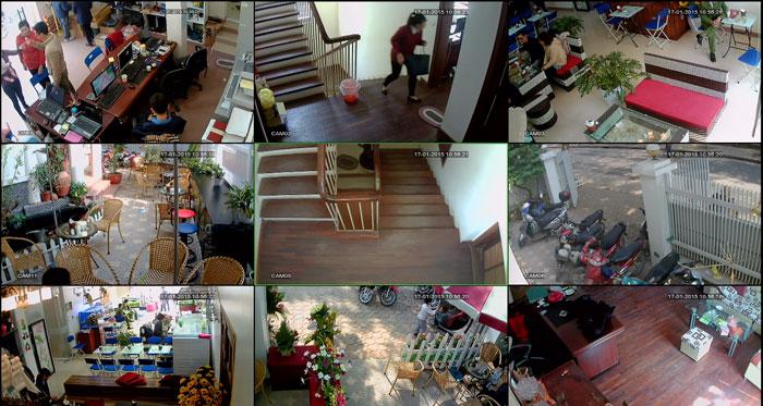 lắp đặt camera trọn gói tại nhà
